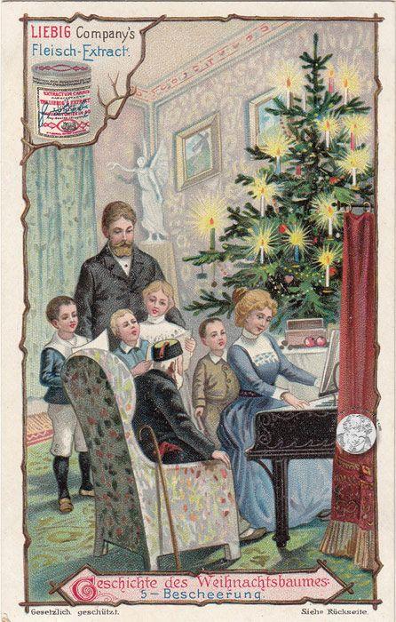 Geschichte Vom Weihnachtsbaum.Geschichte Vom Weihnachtsbaum Serie 499 656 1901 Liebig Extract