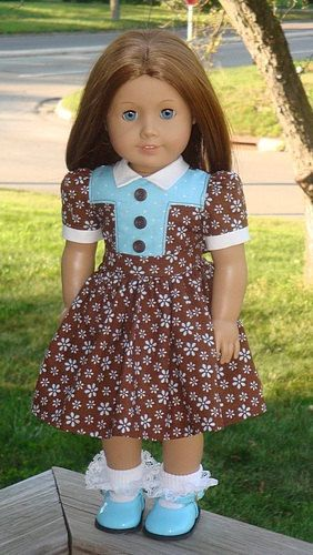 American Girl Doll Clothes  1940's Style by AngelKissesBoutique, $29.99