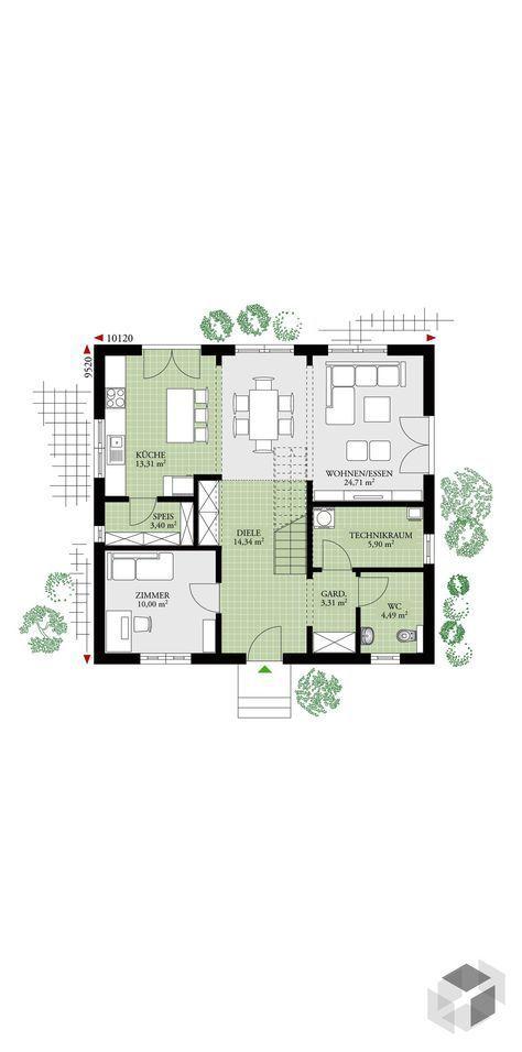 fertighaus danwood free stadtvilla romantisch with. Black Bedroom Furniture Sets. Home Design Ideas