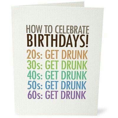 Birthday Humor Cartoon Pinterest