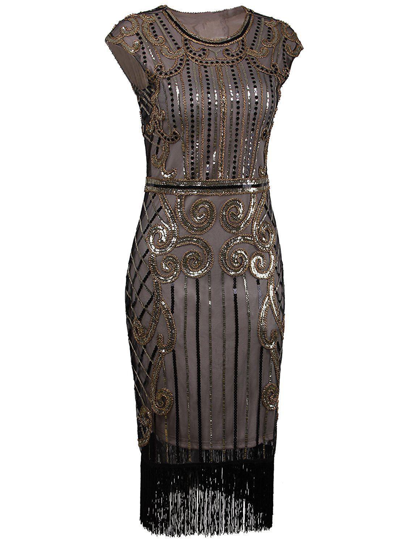 Nice great vijiv s vintage inspired sequin embellished fringe