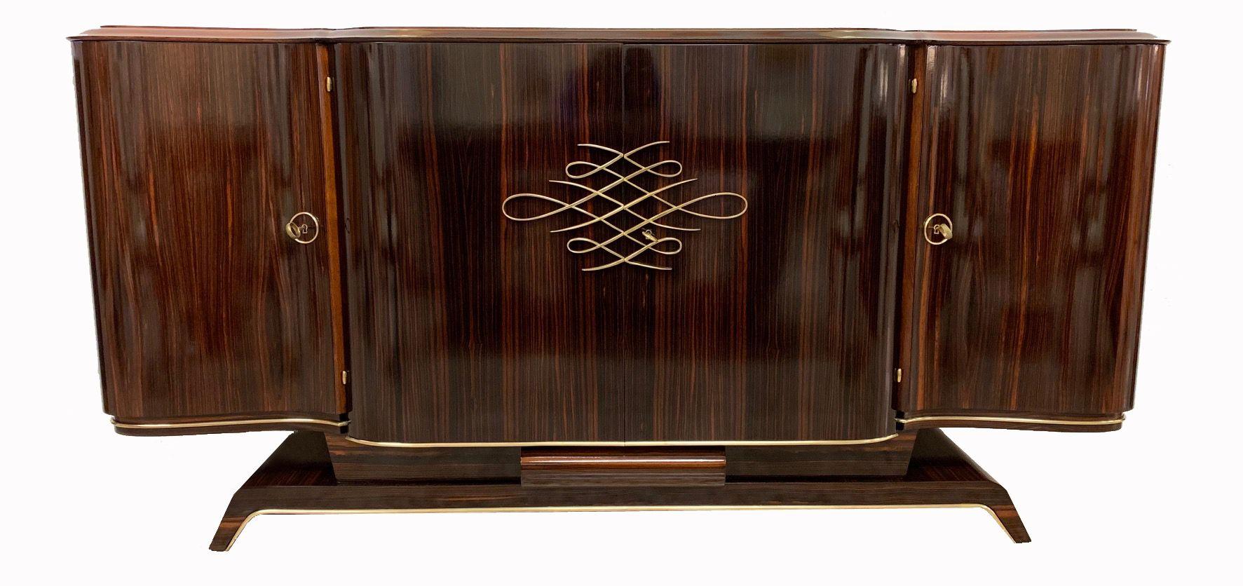 Tavolo Pranzo Art Deco french art dèco sideboard | mobili art deco, credenza d