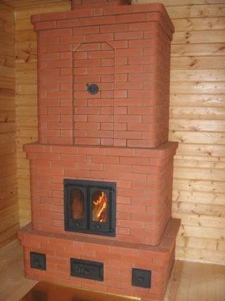 печь для дачи на дровах отопительно варочная