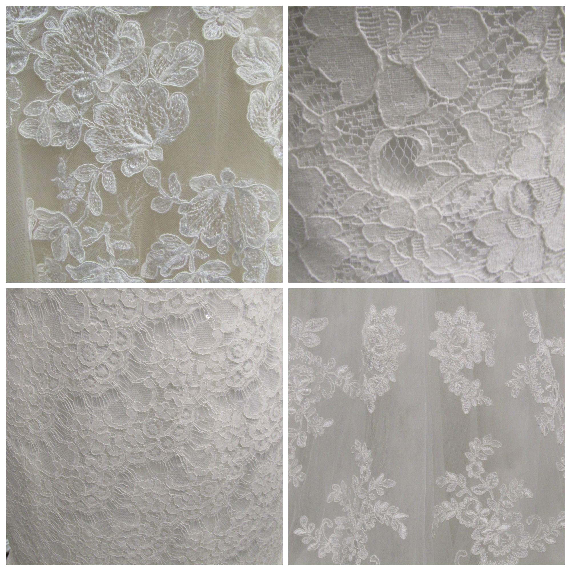 different lace styles