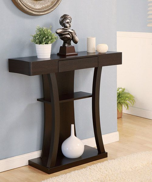 Furniture Discount Sites: Take A Look At The Cappuccino Revela Console Table On