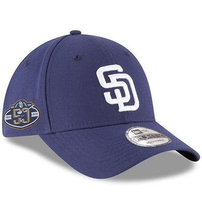 huge selection of 55223 3225a Men s New Era Navy San Diego Padres 50th Anniversary The League 9FORTY  Adjustable Hat