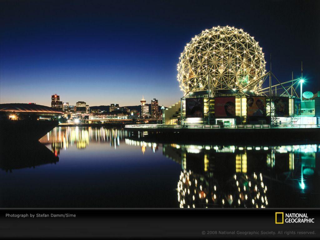 Science World- Vancouver BC, Canada Wallpaper