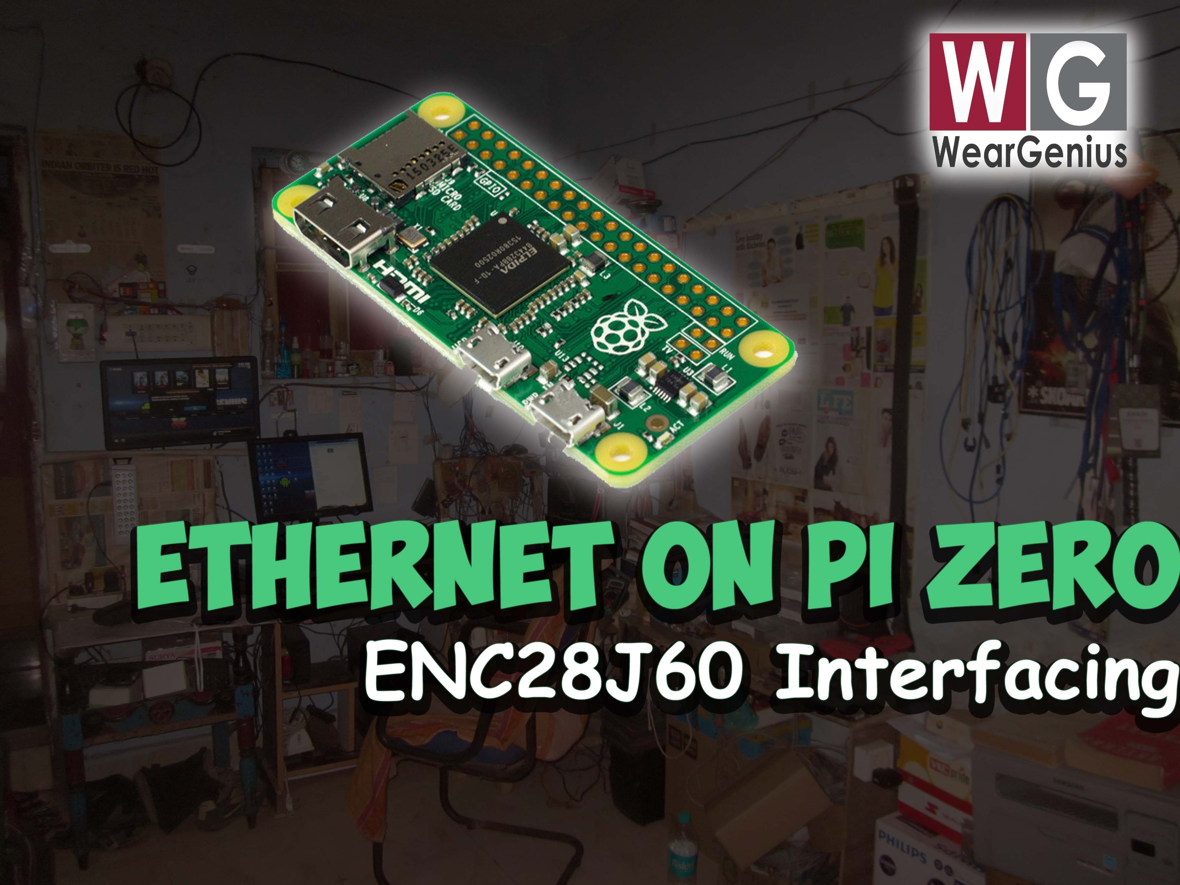 Raspberry pi zero ethernet connectivity weargenius youtube as raspberry pi zero doesnot have onboard ethernet this tutorial is all about connecting to rspberry pi zero to have ethernet connectivity baditri Images