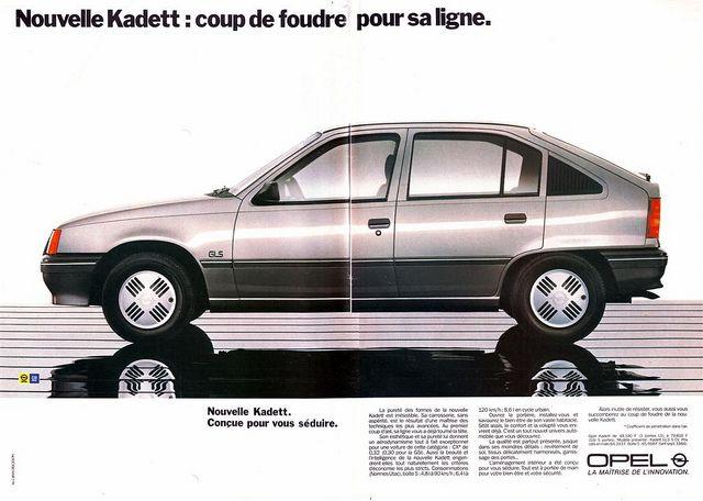 Opel Kadett Gls 1984 Opel Car Ads Vauxhall