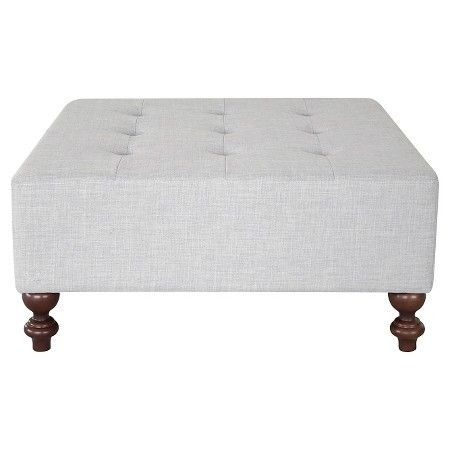 Miraculous Tufted Large Cocktail Ottoman From Threshold In Milford Dove Alphanode Cool Chair Designs And Ideas Alphanodeonline