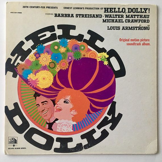 Hello Dolly Original Motion Picture Soundtrack Lp Vinyl Record