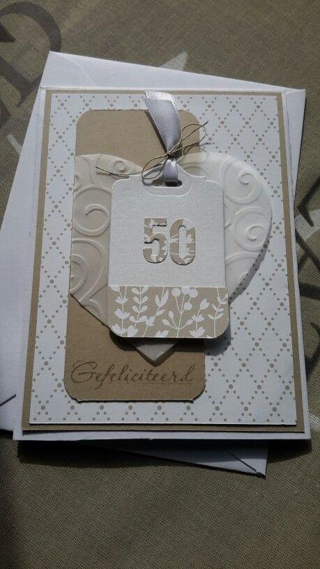 kaart maken 50 jaar getrouwd