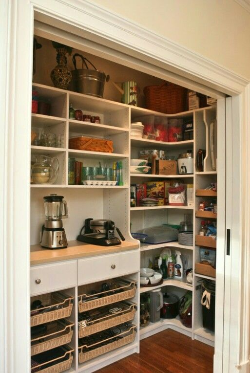 Pantry Greatness! With pocket doors~ even better! Houzz.com ...