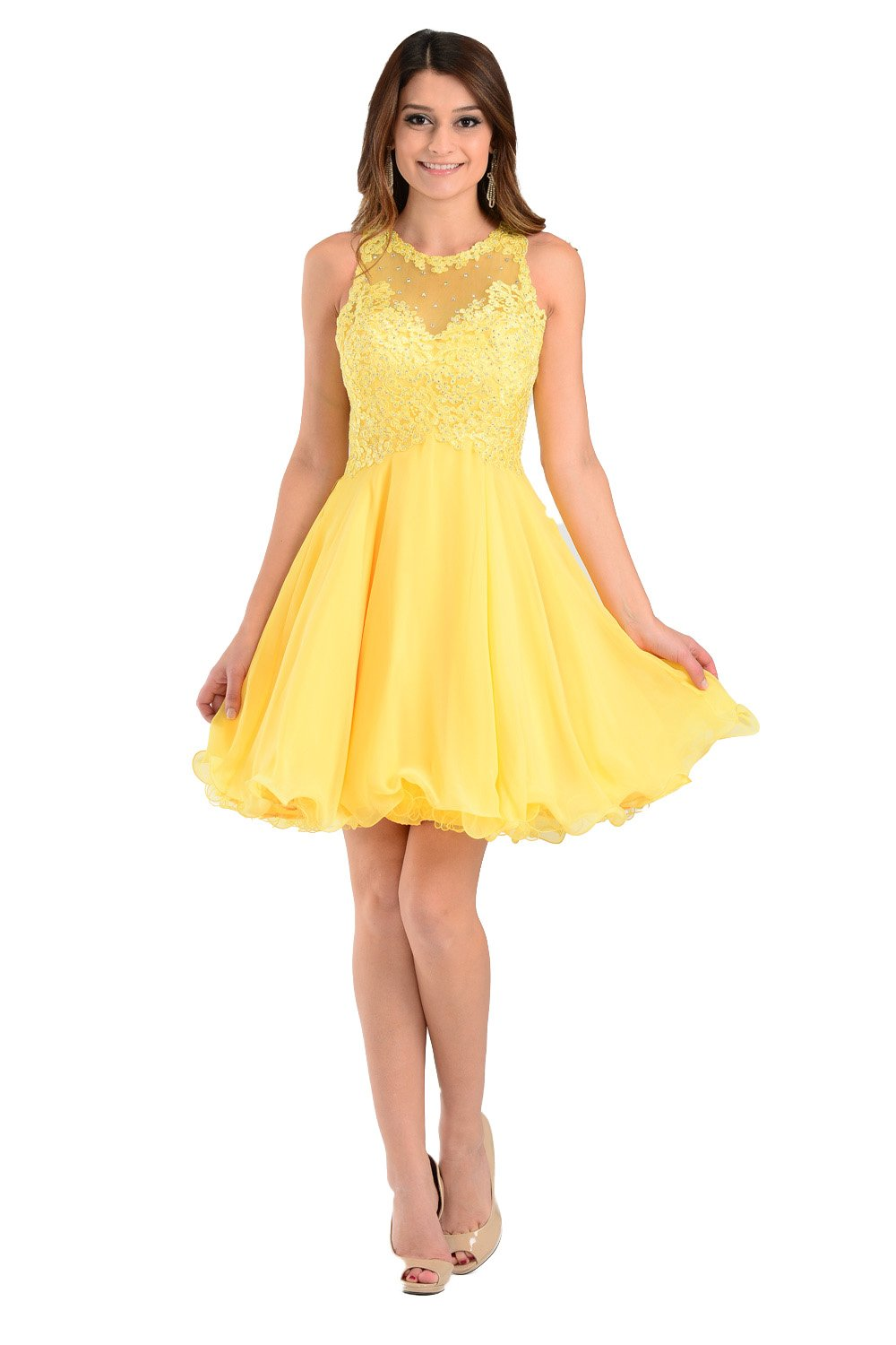 Yellow prom dress 01a215b01f4b