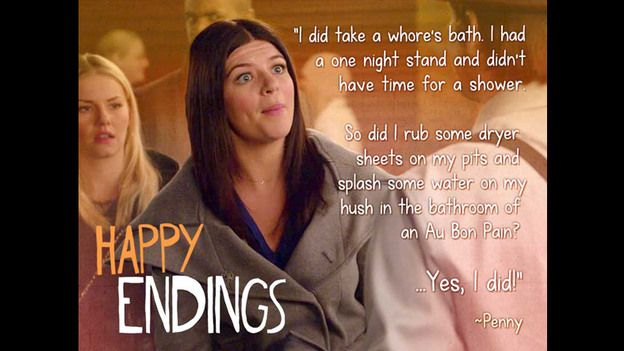 Happy Endings is the best show ever