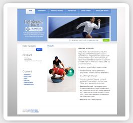 Elite Performance Fitness Cms Web Design Wordpress Web Design Professional Website Design Branding Design