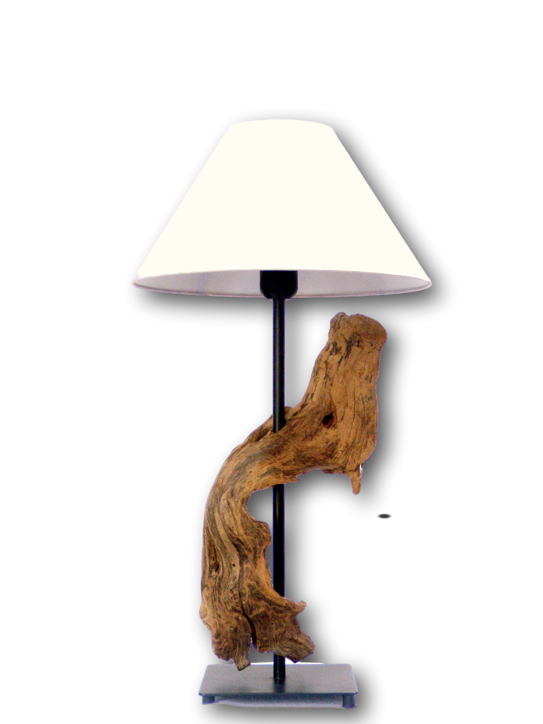 Lampe De Table De 58 Cm En Vente Sur Lampeenboisflotte Com Furniture Casters Discount Furniture Design