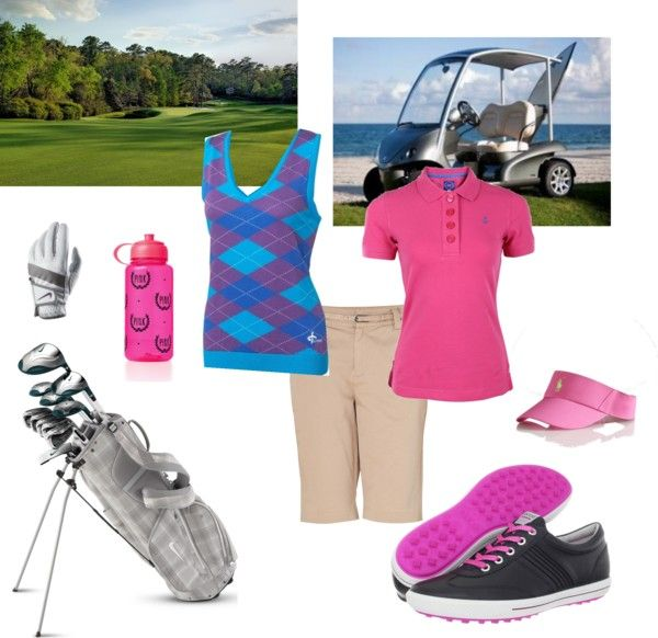 """""""golfer gal"""" by onedirectionluver13 ❤ liked on Polyvore"""