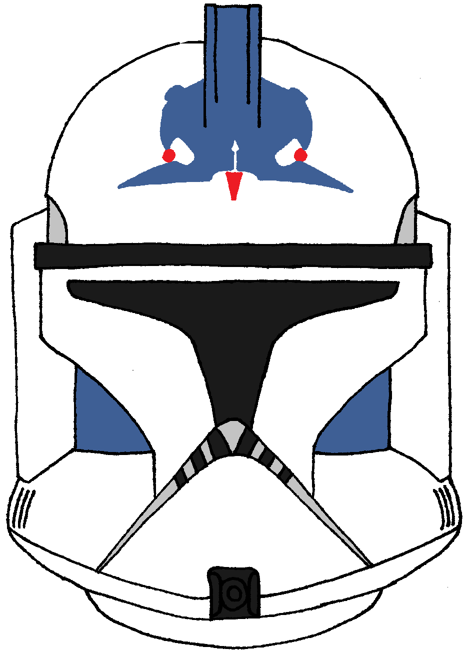 clone trooper five u0027s helmet clone trooper helmets pinterest