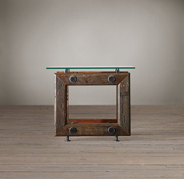 brazilian wood furniture. Restoration Hardware\u0027s Reclaimed Brazilian Wood Side Table: Built From Hardwood Beams That Once Served As Furniture