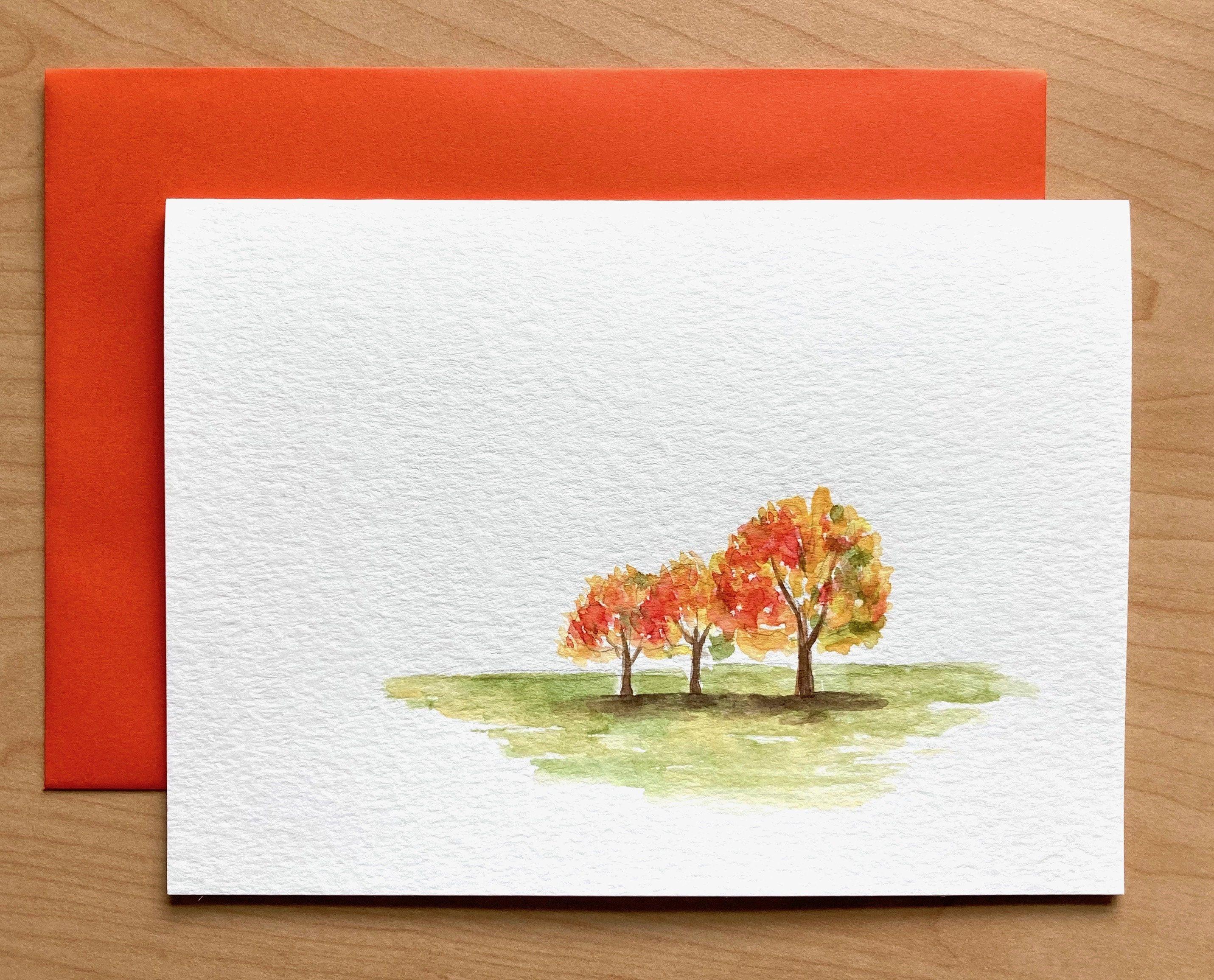 Frameable 5x7 Art Card wEnvelope Today Original Artwork
