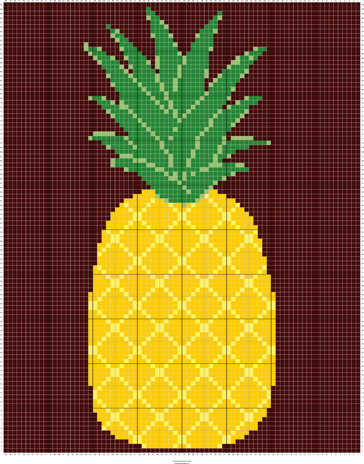 corner to corner c2c crochet Pineapple Afghan | crotchet | Pinterest