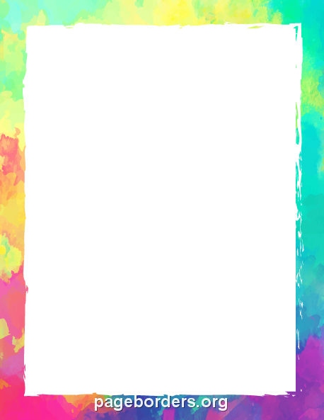 free gif jpg pdf and png downloads at httppagebordersorgdownload colorful border