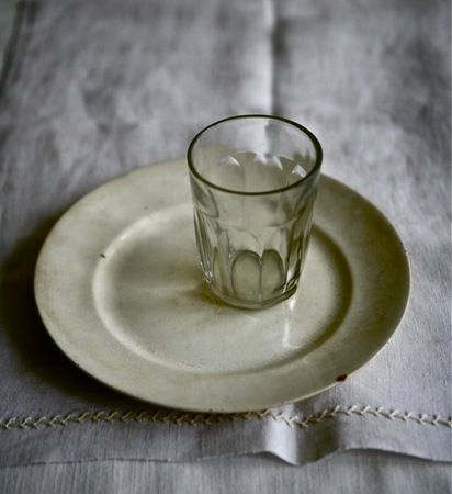 plate, glass, cloth