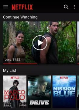 Facing issue of can't download Netflix app on android or unable to