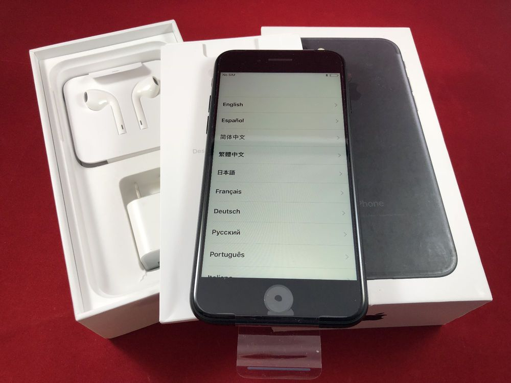 This Is A New Open Box Iphone 7 32gb In Box With Headphones Usb