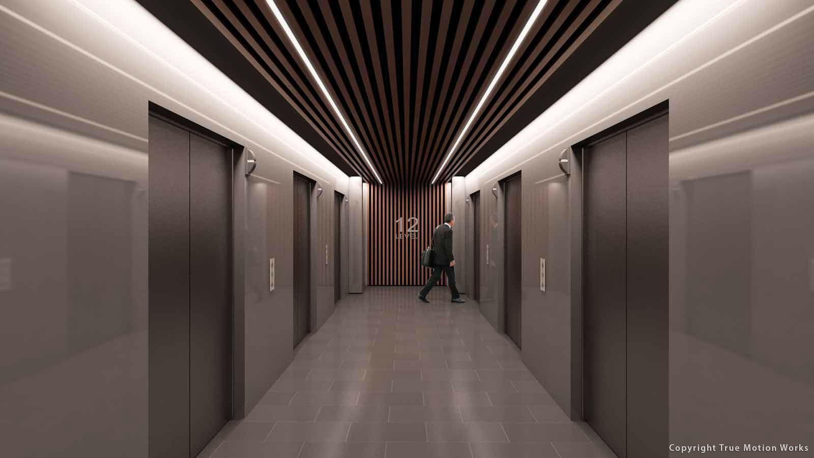 Corridor Design Ceiling: High End Elevator Lobby - Google Search
