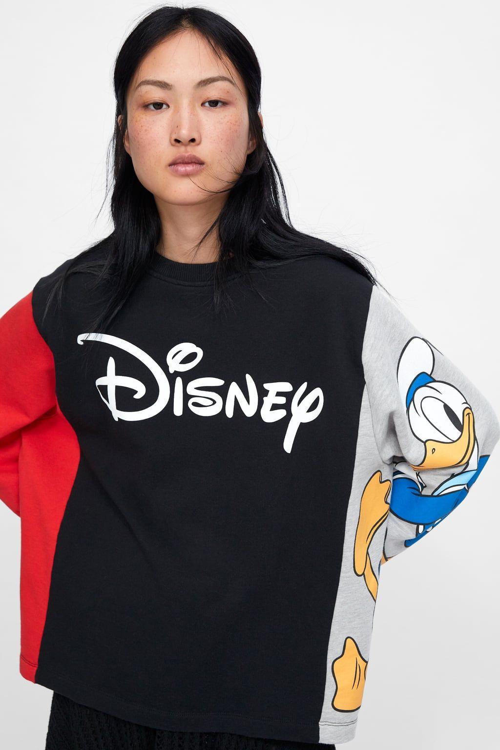 ZARA DISNEY  Donald Duck SWEATSHIRT SIZE S,M,L