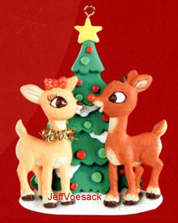 Rudolph clarice happy holidays american greetings ornament cute ornament m4hsunfo