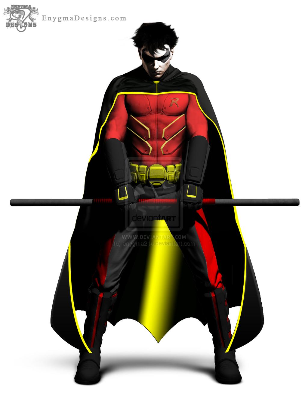Robin - Tim Drake (Batman Arkham City) by enygma214 ...
