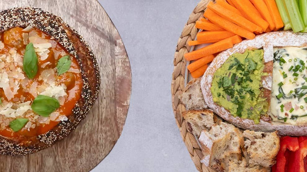 Woolworths Crafted Range Of Sourdough 4 Ways Tasty Recipes Videos Best Appetizer Recipes Sweet Chilli Sauce