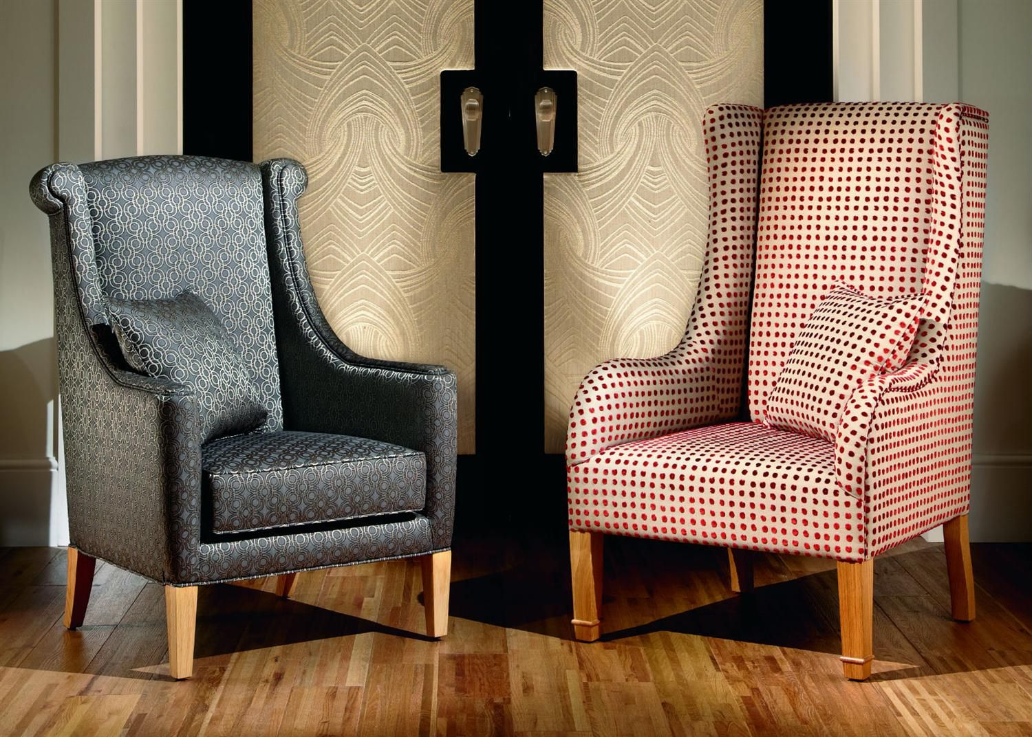 High Backed Chair From Duresta Living Room Chairs