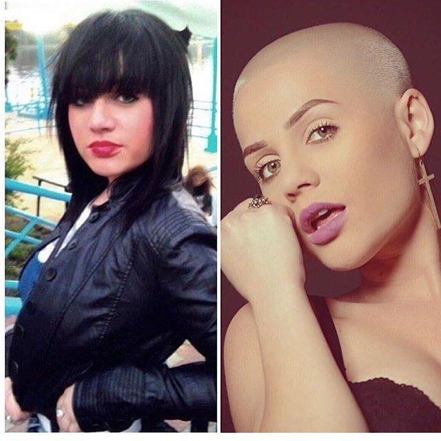 Before & After Slideshow ~ Make me bald