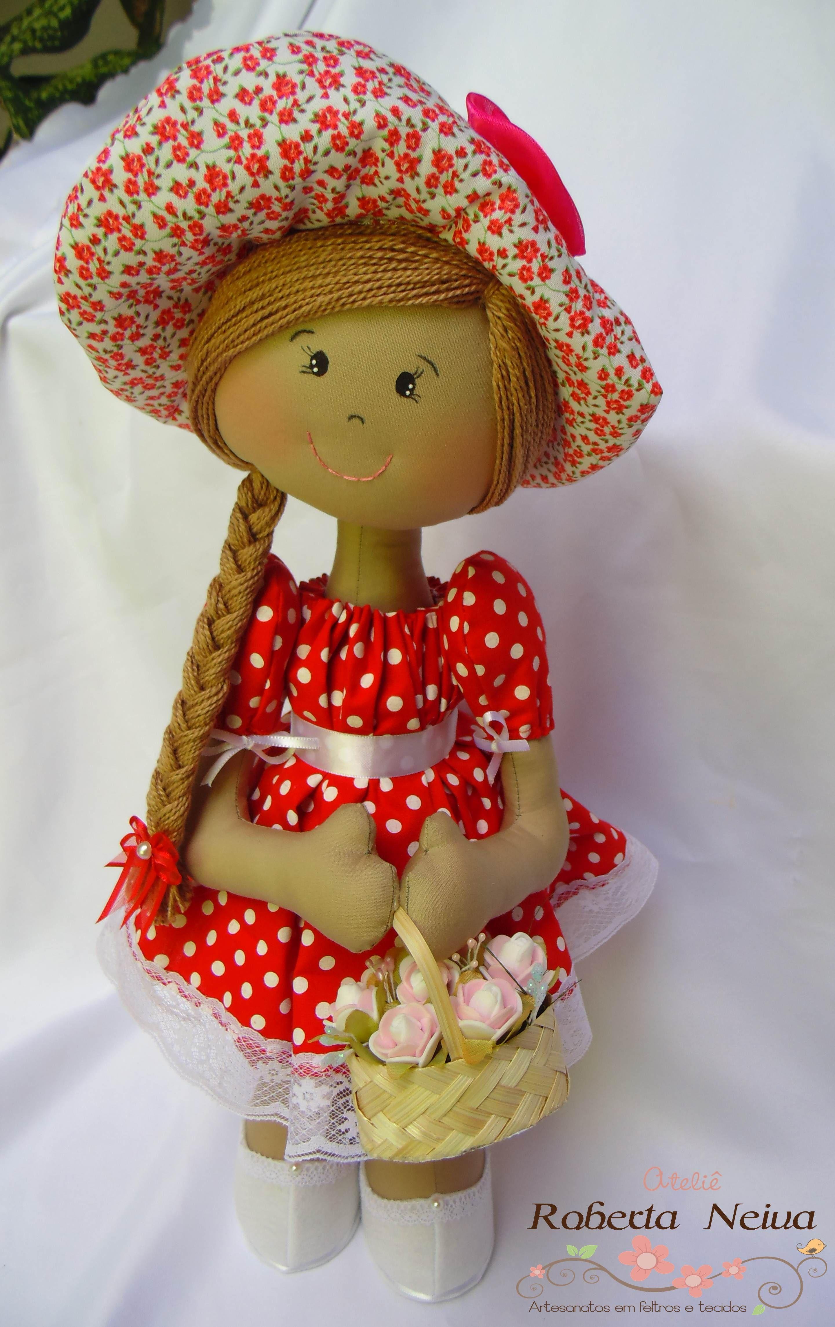 Boneca Olívia.