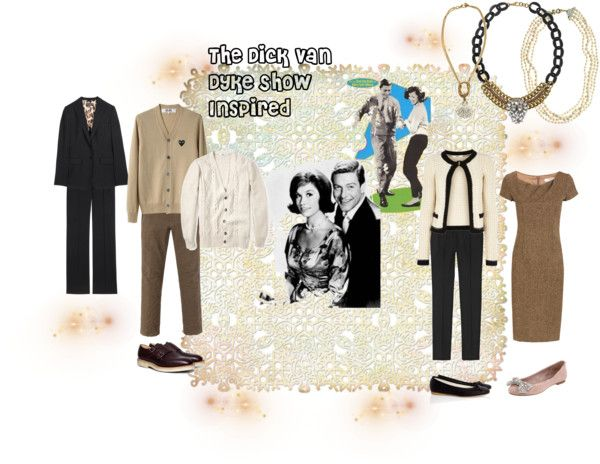 """The Dick Van Dyke Show Inspired"" by lilmissredtshirt ❤ liked on Polyvore"