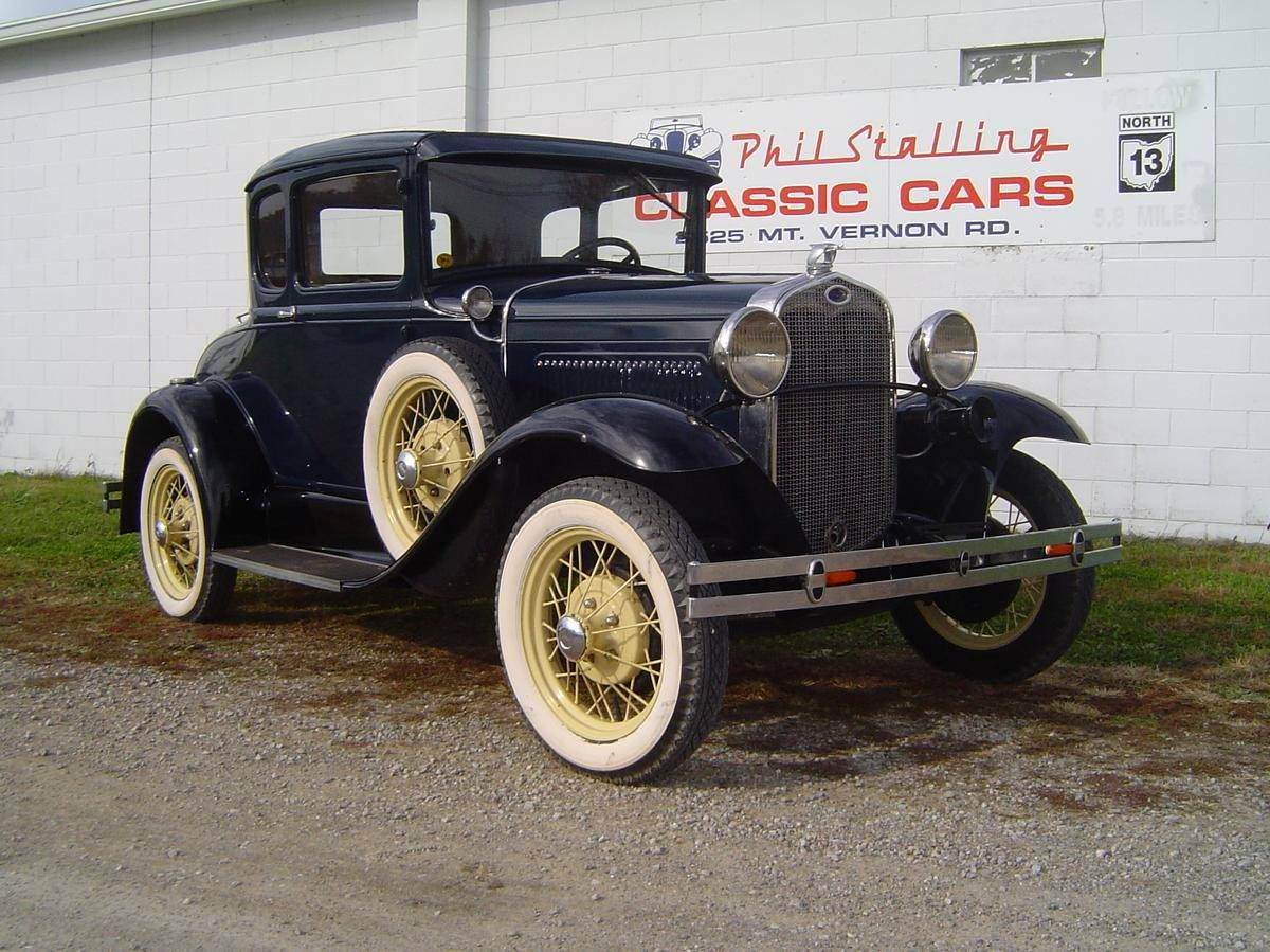 1930 ford model a rumbleseat coupe for sale hemmings motor news old cars pinterest ford. Black Bedroom Furniture Sets. Home Design Ideas