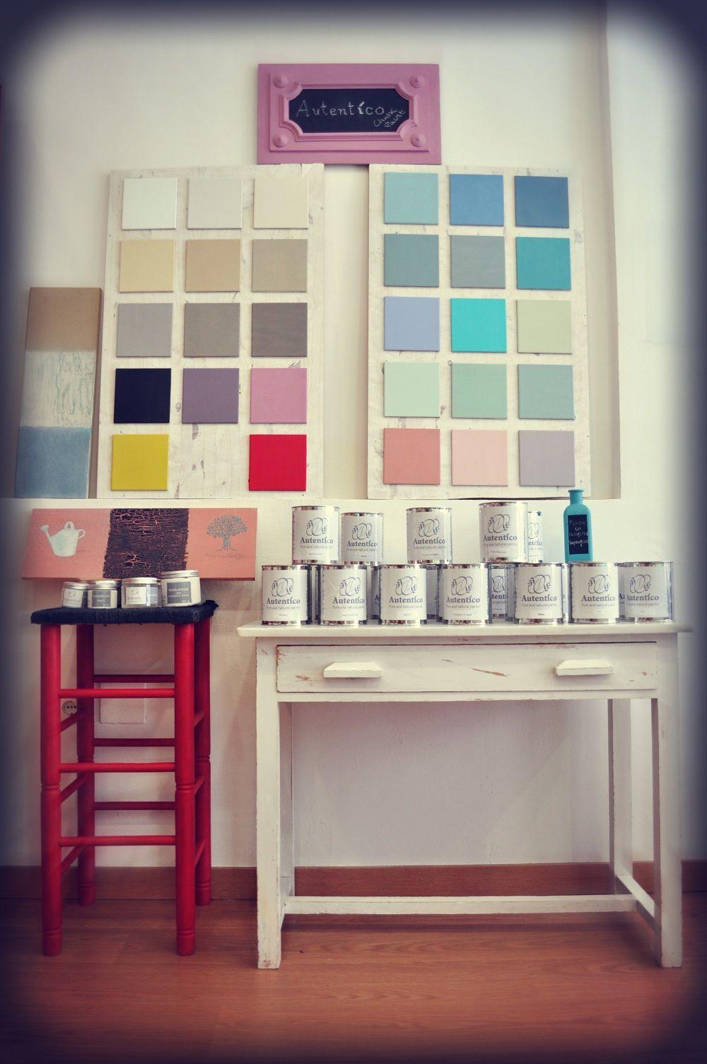 Colores Autentico En Artesano Punto De Venta En M Laga Autentico  # Muebles Punto Paso