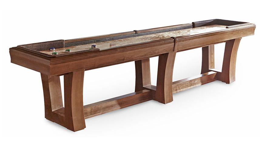 9u0027 City Shuffleboard Table