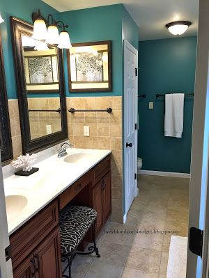 Sherwin Williams Lagoon Good color for kitchen Sherwin Williams Lagoon SW6480 Tales of a Beige Home Makeover www  . Good Paint Colours For Kitchens. Home Design Ideas