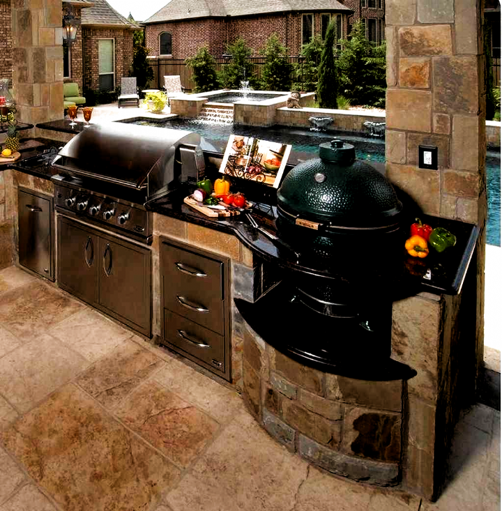 85 Best Outdoor Kitchen And Grill Ideas For Summer Backyard Barbeque Cooking Exterior Generally Is A In 2020 Outdoor Kitchen Design Outdoor Kitchen Backyard Barbeque