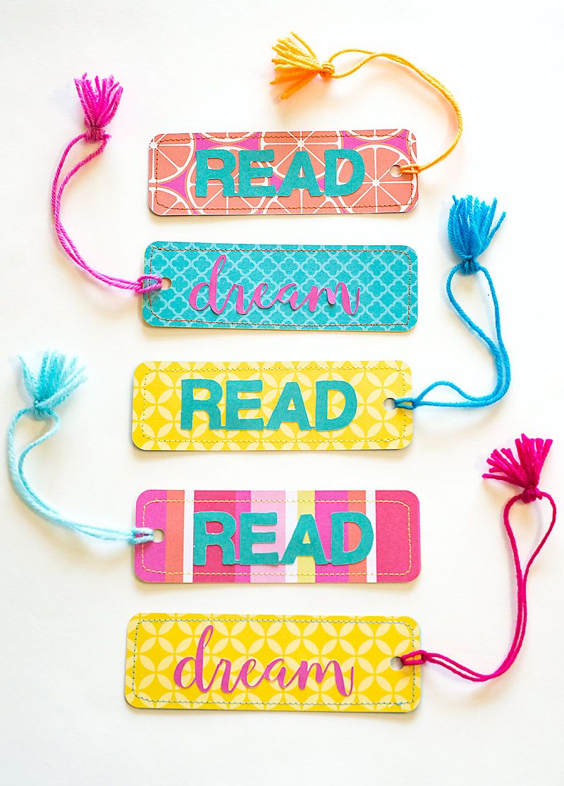 These Easy Paper Bookmarks Include A Free Bookmark Template Svg