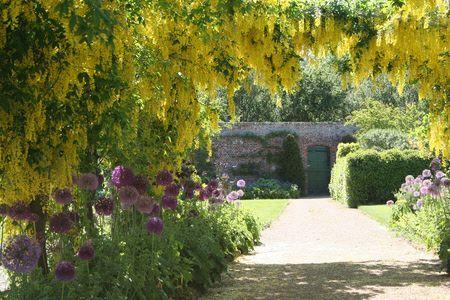 Helmsley Walled Garden in North Yorkshire | Garden wall ...
