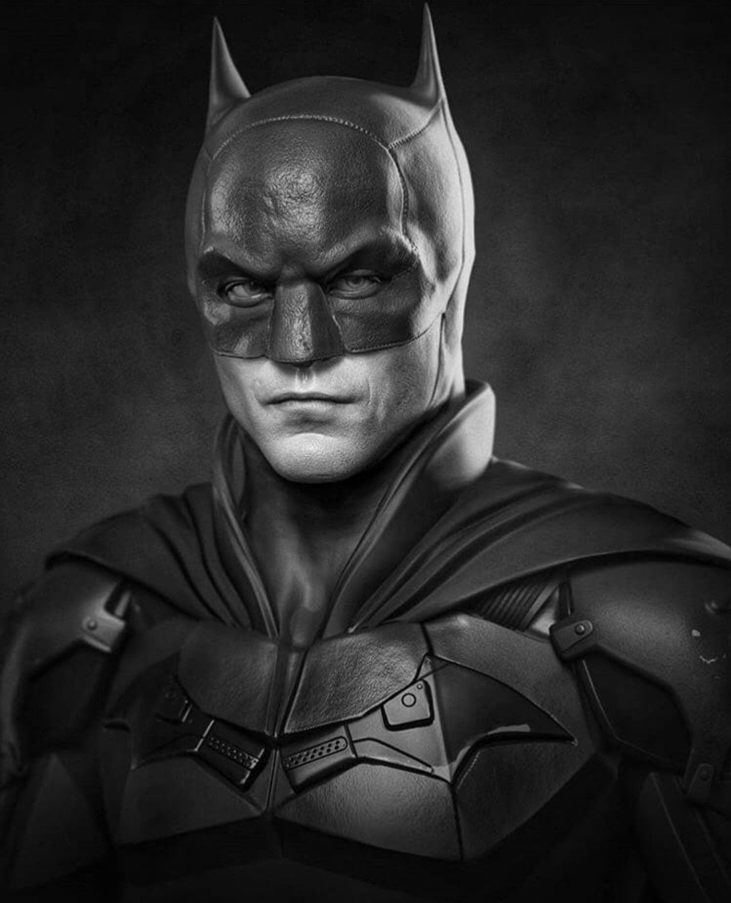 Fan made but I like the look of the cowl in 2020 Batman