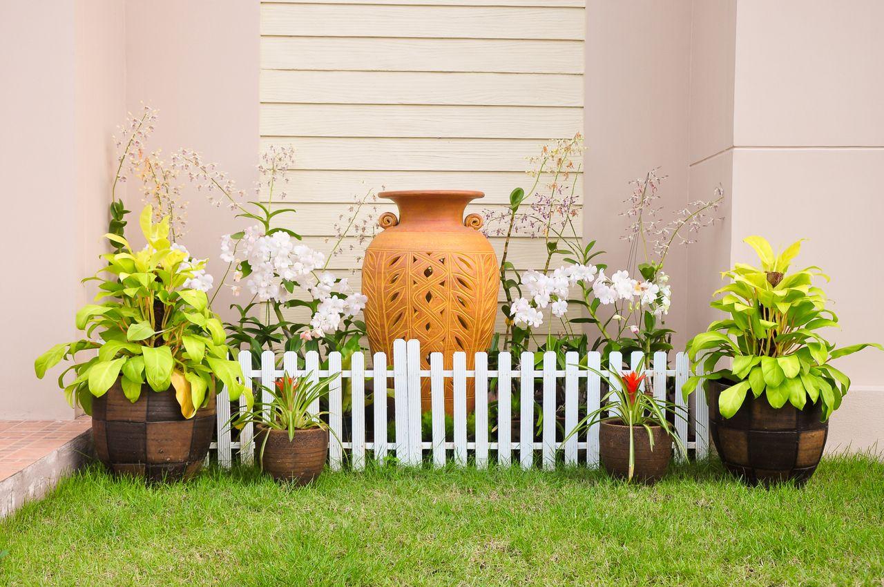 Decoraci n de jardines peque os jard n pinterest - Decoracion para jardines pequenos ...