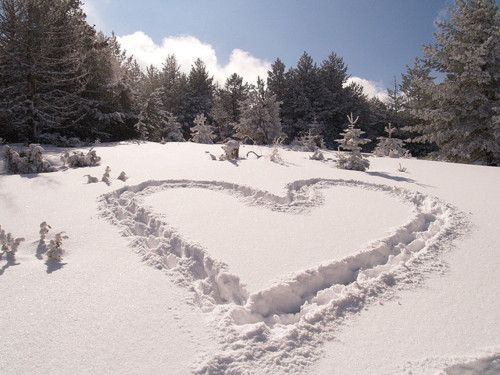 :)Heart  Some love as temporary as the snow, it last only for a season and then it is gone. Joyce Poppen