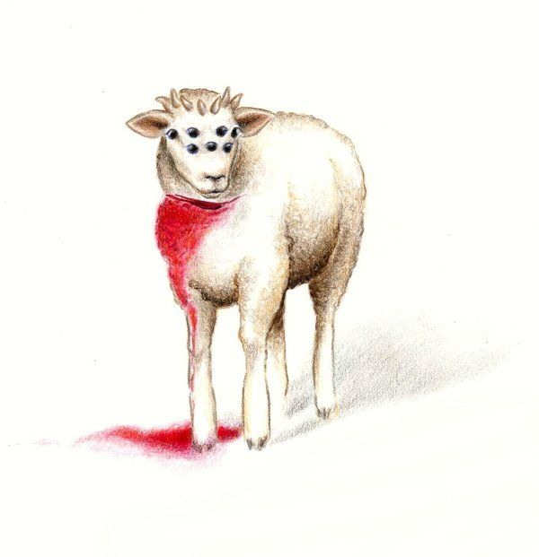 Seven_horned__seven_eyed_Lamb_by_KetsiaLessard.jpg (600×621)